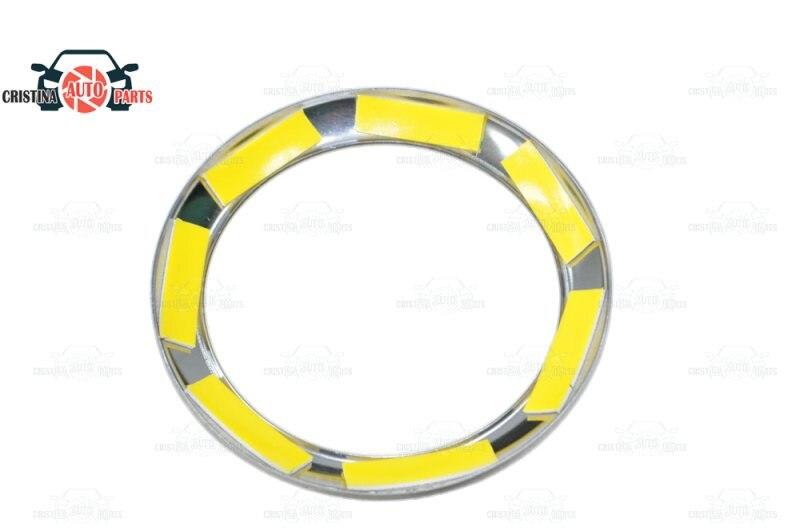 Pour Lada Granta/Kalina bouchon chromé sur déflecteurs d'air acier inoxydable moulage intérieur aspect voiture style décoration - 5