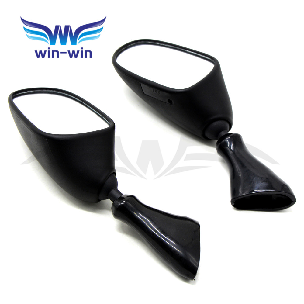 Motorbike Aluminum Rearview Mirrors black motorcycle rear view side mirror for suzuki GSX600F GSX 600F 1998 1999 2000 2001 2002