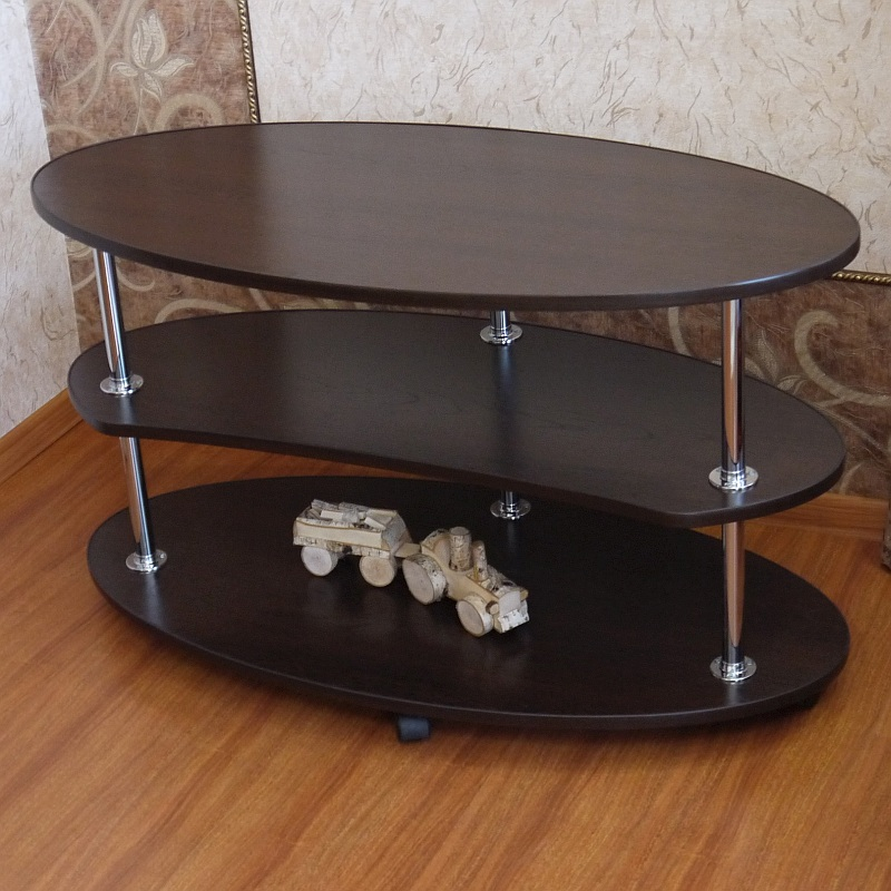 Roll-serving Table, «Jean» On Wheels. Furniture For The Living Room, Kitchen, Bedroom. Bedside\computer\kitchen Table On Wheels.