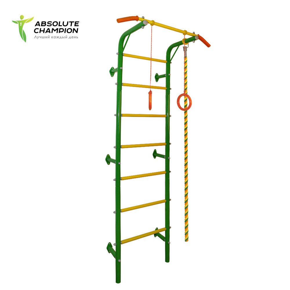 Horizontal bar multifunctional complex rope rings wall bars for kids Absolute Champion horizontal bar parallel bars 3in1 titan absolute champion