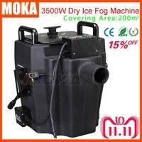 3500w Dry Ice Fog Machine Stage Effect dry ice machine low ground smoke machine For DJ Party Event With 3m Hose