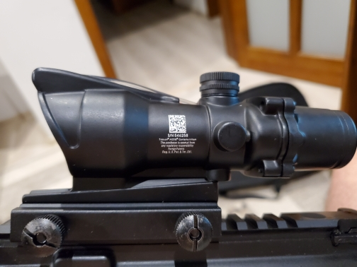 Lunetas Riflescopes Riflescope Chevron Óptica