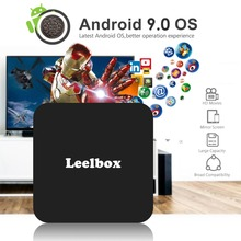 TV BOX Q4 4K Android Leelbox TV Box Android 9.0 OS Latest KD 4GB 32GB RK3228 4K 2.4GHz WIFI Quad Core Smart TV Box Media Player vorke z3 4k kodi tv box