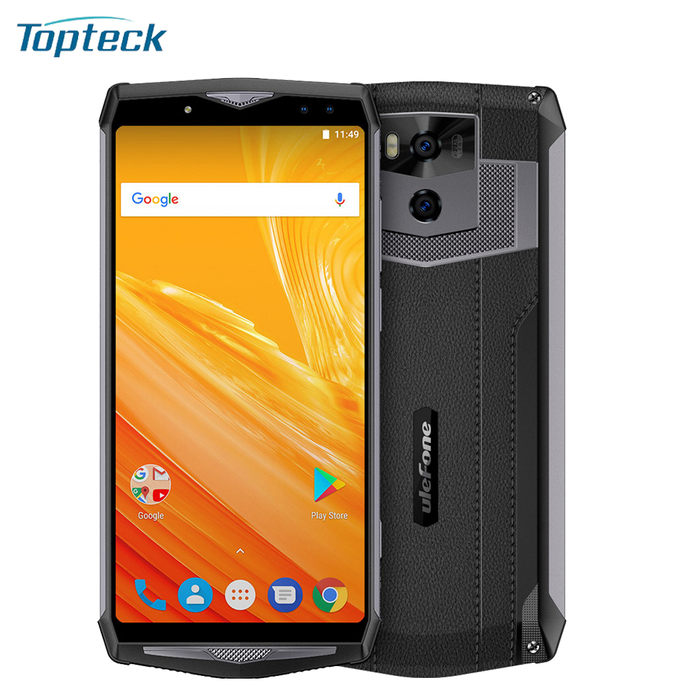 Ulefone Power 5 13000mAh 4G Mobile Phone 6Inch FHD Octa Core 6GB 64GB 21MP Four Cameras