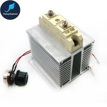 25000 Вт SCR 200A большой ток 25 кВт Электронный регулятор напряжения ac220в регулировка скорости закалки