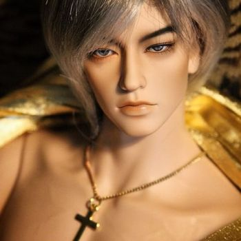 HeHe bjd sd hot sale boy 1/4 body 49.5cm fid body free eyes faceup low price to papua new guinea