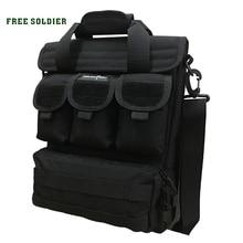 FREE SOLDIER  Практичная военная походная сумка на плечо для повседневной носки и туризма, ручная, 1000D CORDURA YKK на молнии