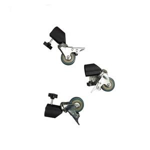 Image 3 - Konseen 3PCS Photo Studio Universal 22mm Caster Wheel for lighting stand Photo Studio Accessories Free Shipping