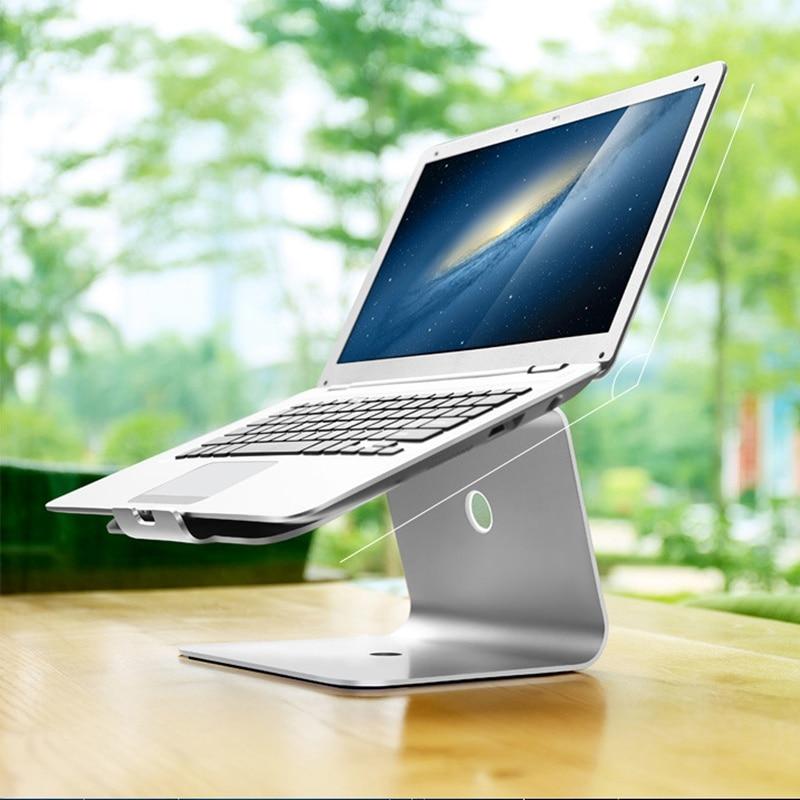 Sliver Laptops Desktop Stand Holder For MacBook New Lapdesks For 14-17inch Notebook  Cooling Cooler Pad Stand For Lenovo buy monitor for desktop