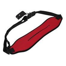 UXCELL Red Adjustable Single Shoulder Neck Strap Belt For Slr Digital Dslr Camera