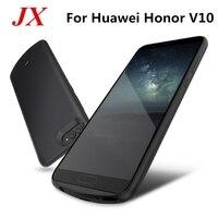 Para o Caso Huawei Honra Bateria V10 ABS Inteligente Suporte Do Telefone Carregador de Bateria Power Bank Caso Capa Para O Huawei Honor V10 caixa de bateria