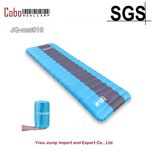 Camping Sleeping Pad Backpacking Mats Ultralight Self Inflating Mattress Foldable Compact Comfortable for Outdoor Backpacking
