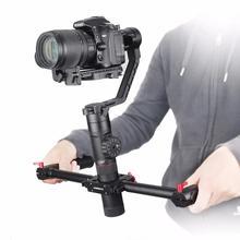 Zhiyun Crane-2 With Dual Handle Gri 3-Axis Handheld Gimbal Stabilizer Follow Focus Display Balance Adjustment for Ddlr Camera