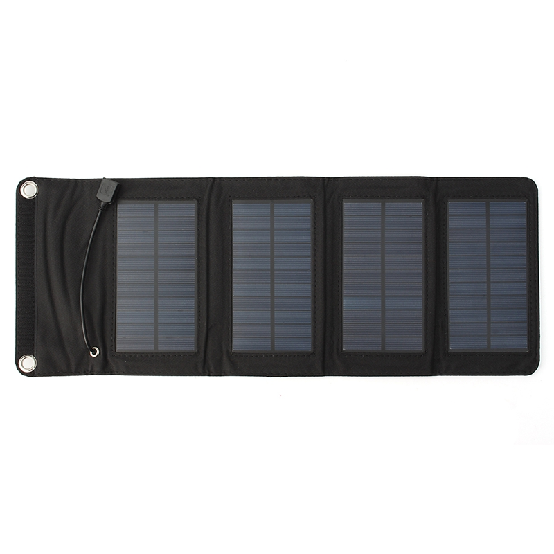 LEORY 7W USB Solar Power Bank Portable Solar Panels Battery Charger Camping Travel Folding For Phone Charging Kits portable solar charging panels outdoor travel emergency 24w 5v 18v solar power mobile phone gps bluetooth earphone solar charger