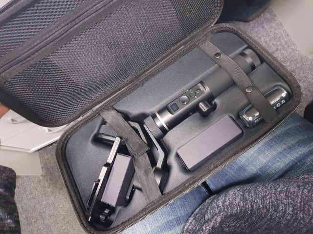 FeiyuTech G6 Plus 3-Axis Handheld Gimbal Stabilizer for Mirrorless Camera Pocket Camera GoPro Smartphone Payload 800g Feiyu G6P