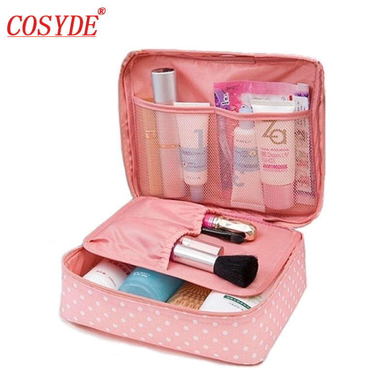 Cosyde Women Cosmetic Bag Girl Makeup Bag Multifunction Ladies Bag Case Wash Toiletry Make Up Organizer Storage Travel Kit Bag