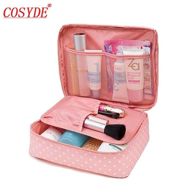 Cosyde 女性化粧品袋の女の子化粧ポーチ多機能レディースバッグケース洗浄トイレタリーオーガナイザー収納トラベルキットバッグ