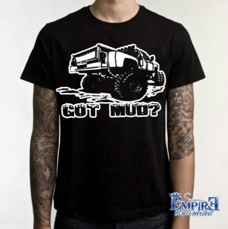 Shirt Design Four Wheeler Tee Mud Up Or Shut Up Nice Mens T-Shirt Off Road Truck Tee Mens Design O-Neck Short-Sleeve T Shirts ...