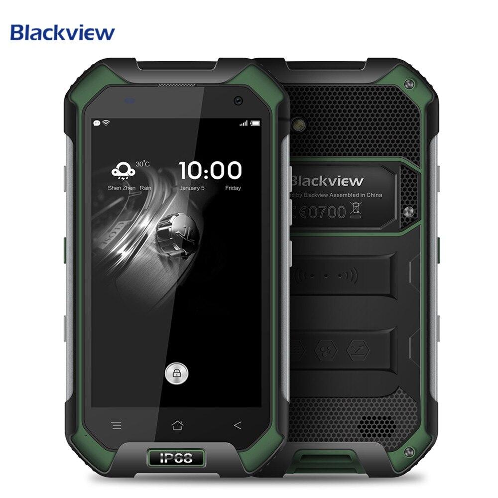 Blackview BV6000 Smartphone IP68 Impermeabile 4.7 pollice Dello Schermo 4g Del Telefono Delle Cellule di MTK6755 Octa Core 3g di RAM 32g ROM 13.0MP Del Telefono Mobile