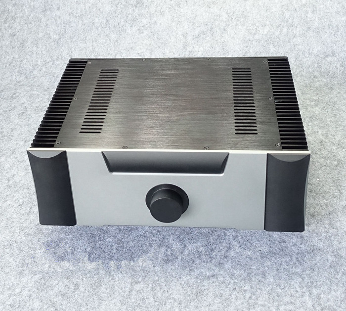 BZ4315B All Aluminum Chassis Class A Power Amplifier Case Large Audio Amp Enclosure DIY Box 330MM*142MM*300MM sonance large is enclosure короб