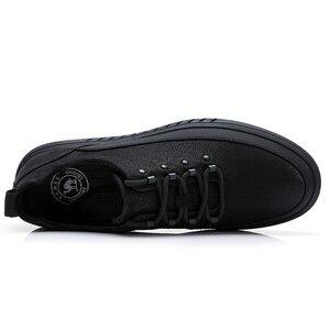 Image 2 - CAMEL Mens Shoes Genuine Leather Casual Shoes Korean Trend Mens British Matte Texture Man Fashion Shoes