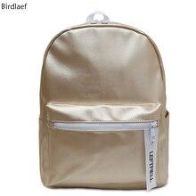 Birdlaef 2017 новый Корейский алфавит сумка Pu яркий лицо студент мешок Корейский Тенденция Рюкзак