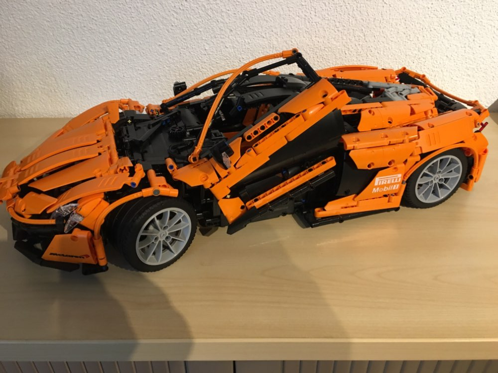 LEPIN 20087 McLaren P1 Hypercar 1:8 Technic MOC 16915 Block Set (3725Pcs) photo review