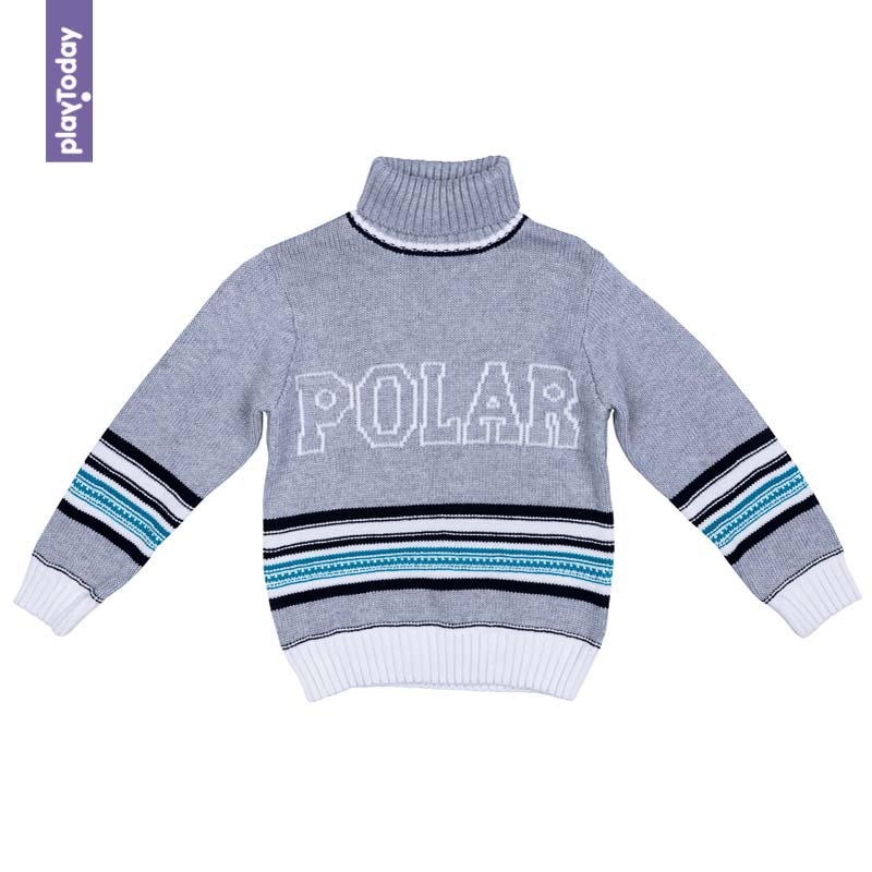 Sweaters PLAYTODAY for boys 371108 Children clothes kids clothes kids spring formal clothes set children boys three piece suit cool pant vest coat performance wear western style