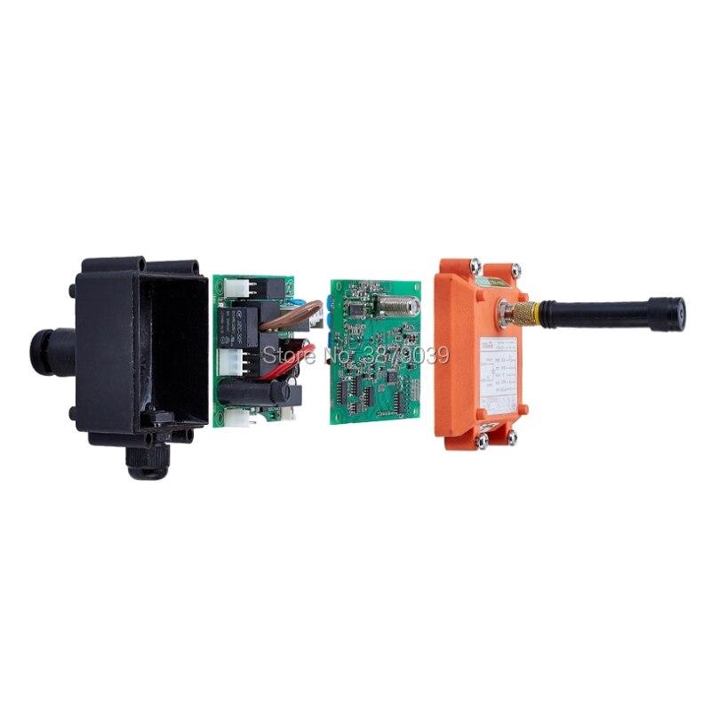 F21 2S (1 émetteur + 1 récepteur) télécommande sans fil industrielle pour grue - 4