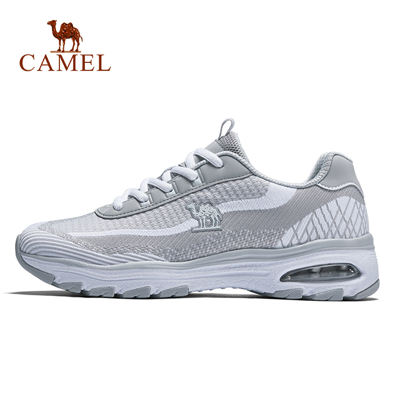 CAMEL Women Running Shoes Shock Absorption Stability Sneakers Casual Air Cushion Breathable Female Sport Fitness Outdoor