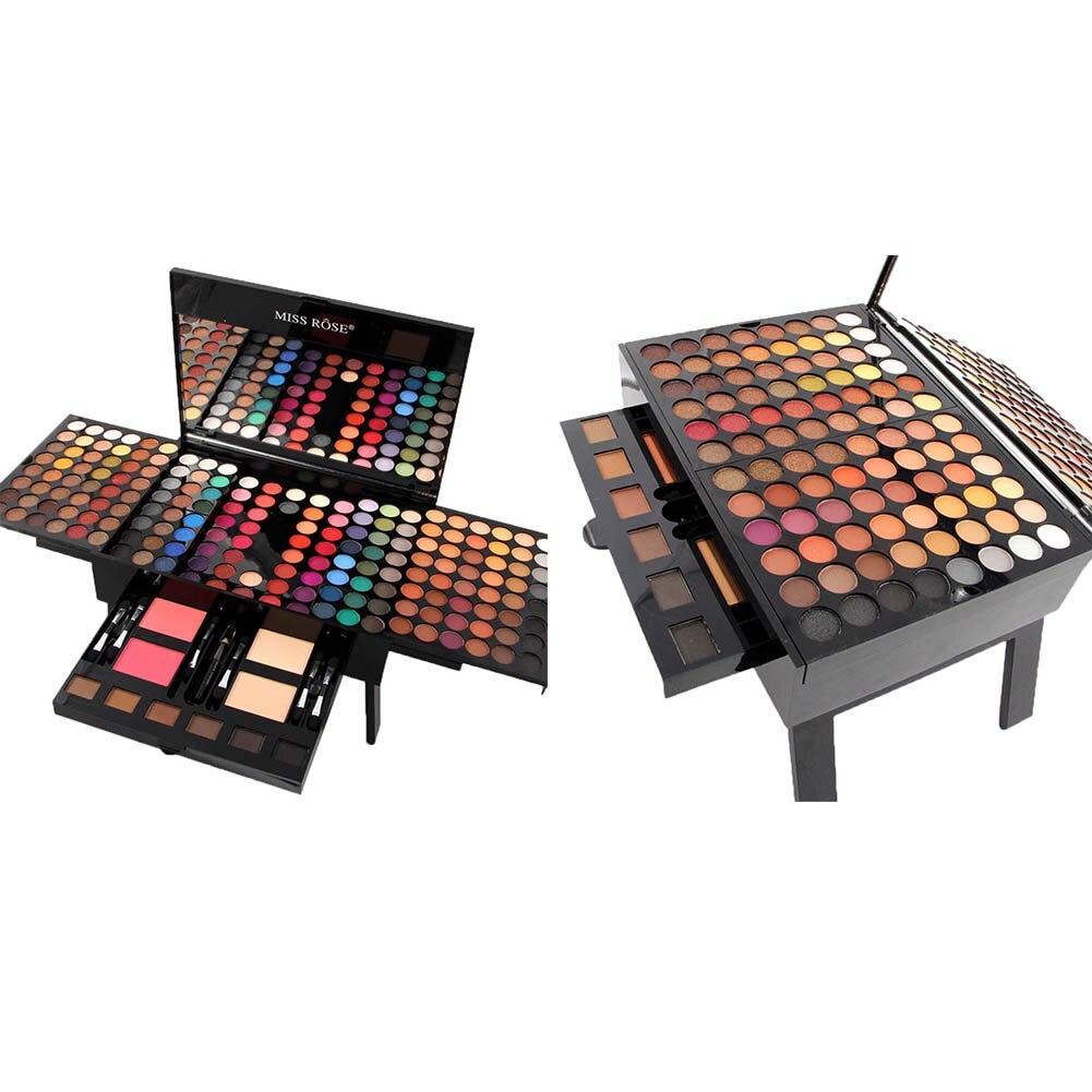 Miss Rose Cosmetics 180 Colors Matte Glitter Eyeshadow Palette Powder Eye Makeup Professional Maquiagem Eye Shadow Make Up Kit все цены
