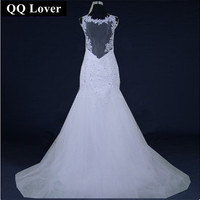 Bright Diamond Royal Princess Middot Fish Tail Train Bride Wedding Dress 2012 New Arrival