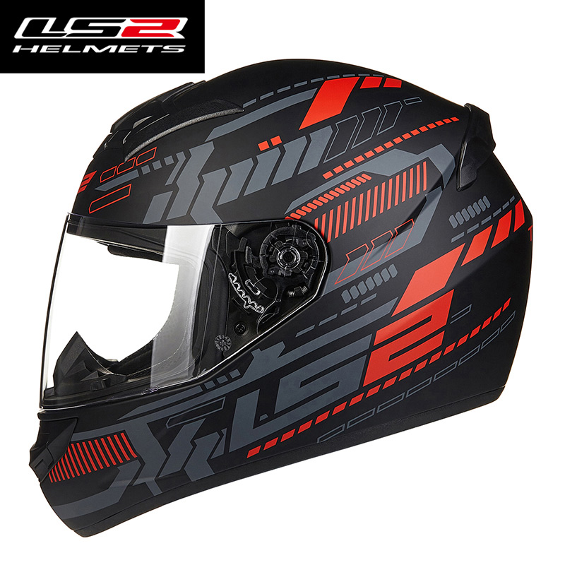 New LS2 FF352 Full face motorcycle helmet man woman racing LS 2 moto helmets made in china 100% Original LS2 motorcycle helmet free shipping genuine sports car limited edition motorcycle helmet full helmet ls2 motorcycle oem red and white illusion