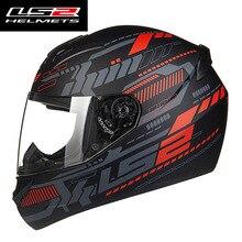 Новый LS2 FF352 анфас moto rcycle шлем Парень Девушка racing LS 2 moto шлемы Сделано в Китае 100% оригинал LS2 moto rcycle шлем