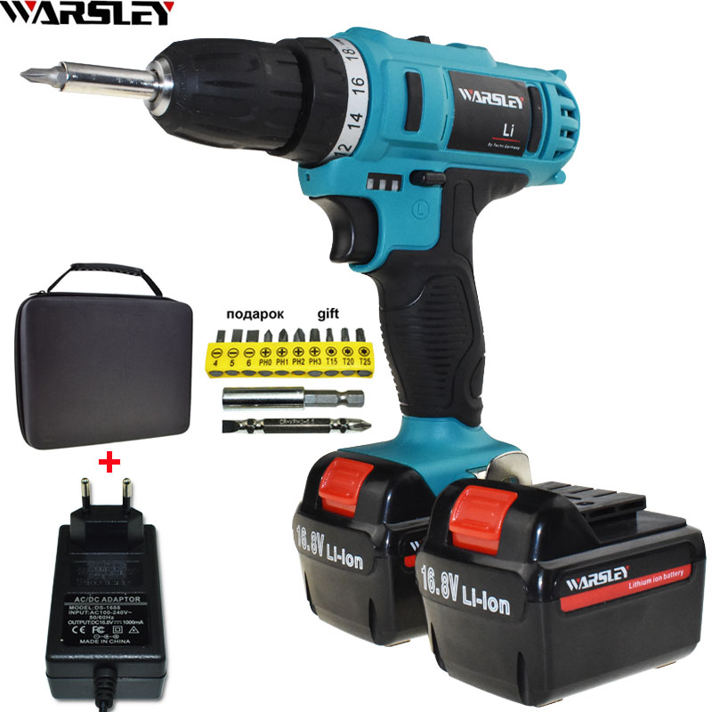 16 8V Cordless Drill Power Tools Battery Drill Electric Screwdriver Electric Electric Drill Mini Electric Drilling