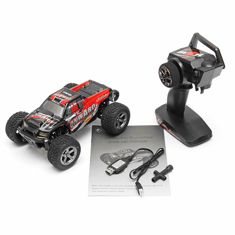 WLtoys 20402 1:20 RC Car 2.4G 4WD Remote Control Truck Truggy Models Kids High Quality Toys Hot Sale Gifts цены