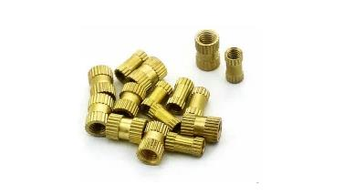 M3 5x5 Brass knurled insert for HyperCube Evolution,100pcs/lot. levelling screws for hypercube evolution 6pcs lot