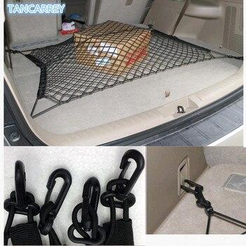 Auto Nylon Stretch Netto Dei Bagagli Bagaglio Reti Sacchetto Cremagliera Per Audi A3 A4 B6 B8 A6 C5 C6 80 B5 B7 A5 Q5 Q7 TT 8 P 100 8L C7 8 V A1 A3 Q3