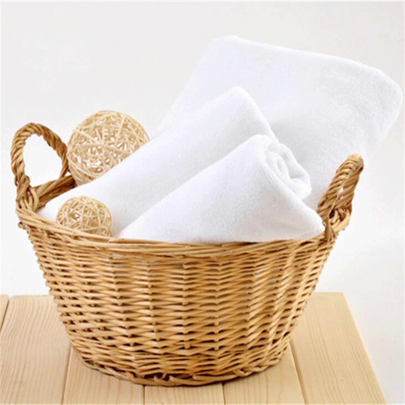 Wholesale Microfiber Bath Towels: Wholesale Price White Soft Microfiber Fabric Face Towel