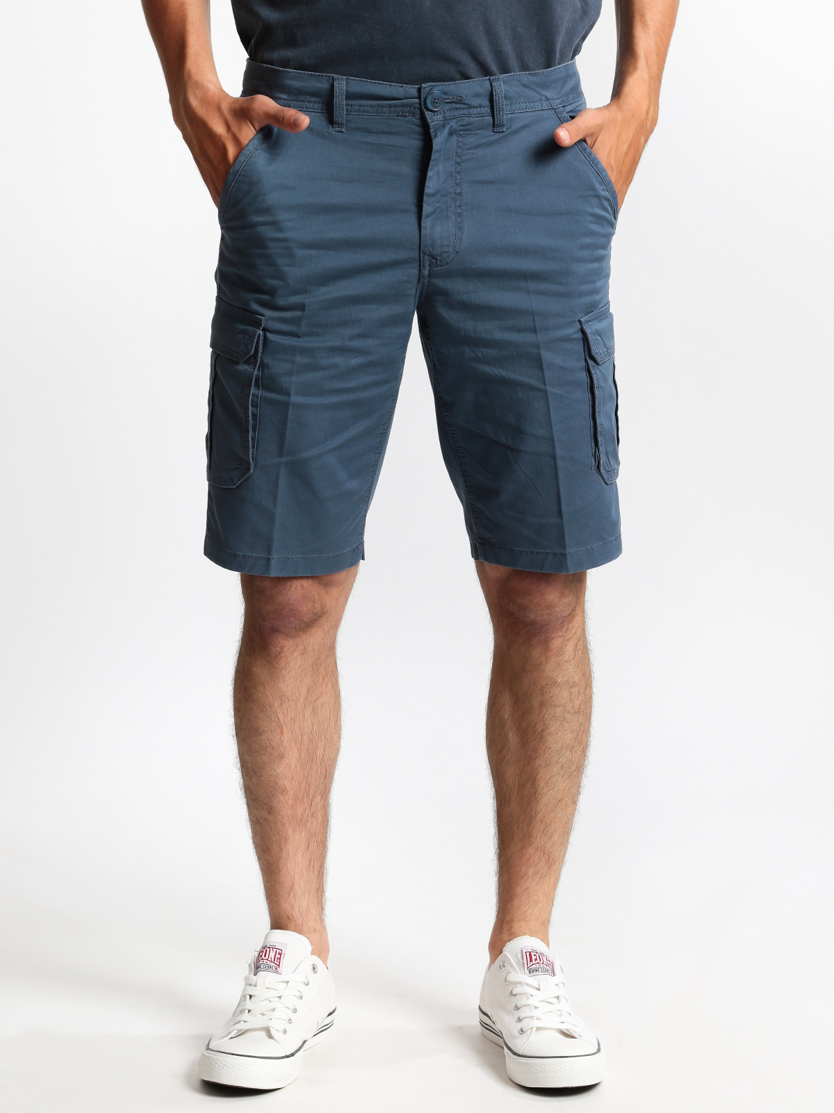 Bermuda Cotton With Side Pockets