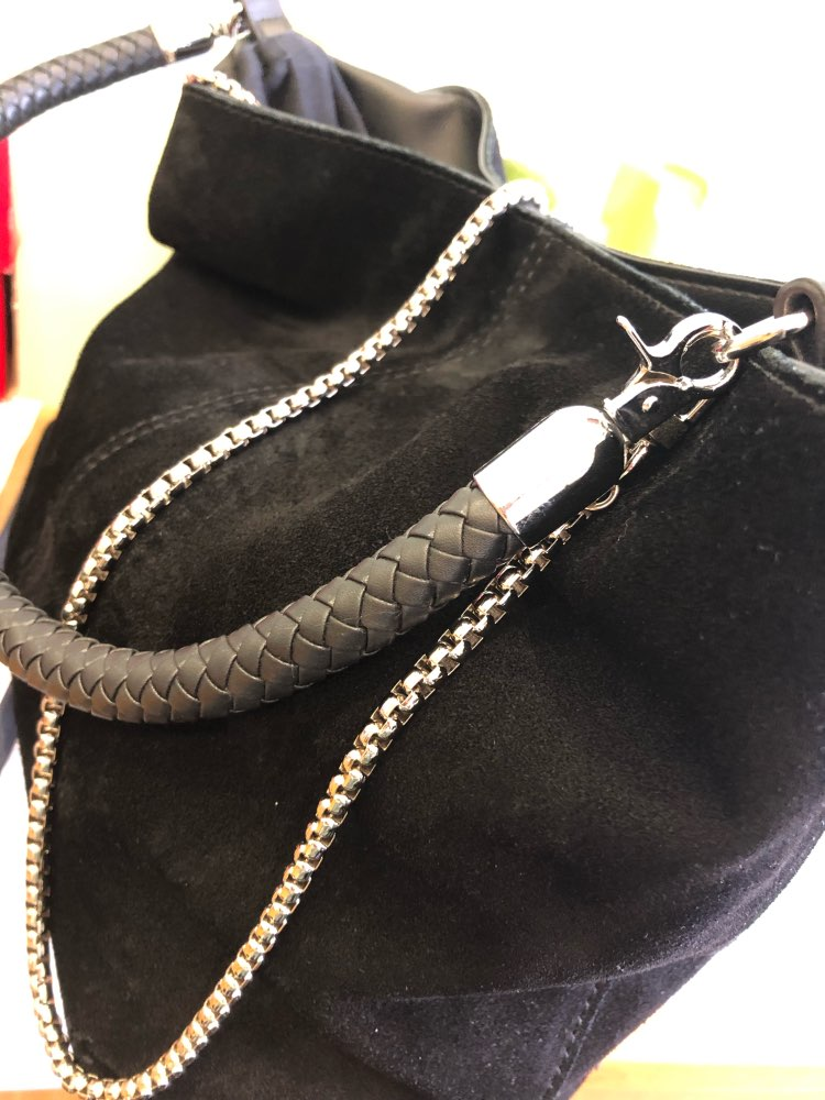 AEQUEEN DIY Chain Strap Metal Strap 120cm Shoulder Bag Straps Replacement Belts Bag Accessories Parts Snake Long Belts Handle photo review