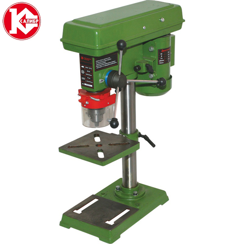 Kalibr SS-16/550 Drilling machine Drill Press Bench Small electric Drill Machine Work Bench gear drive 220V 5500W