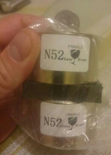 1 шт. неодимовый магнит 50x30 N52 супер сильный Круглый магнит редкоземельных NdFeb N38 50*30 мм сильным постоянные мощные магнитные