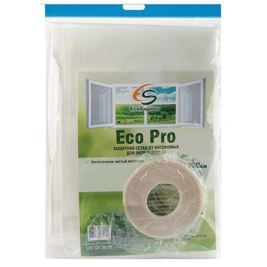 Eco Pro mesh mosquito net for windows and doors (150*120 cm) EcoSapiens low temperature heat electro sheet infrared carbon fiber linen 150 x 90 cm ecosapiens gessmarket