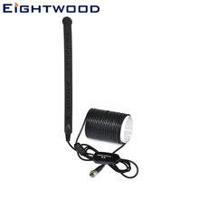 Eightwwood автомобильная антенна для цифрового ТВ DVB-T T2 лобовое стекло активная антенна 20dBi встроенный усилитель F разъем крепление для стекла антенна