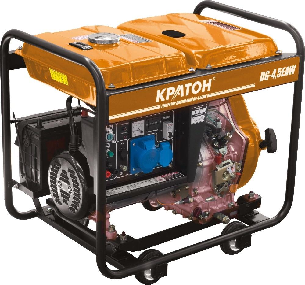 Diesel generator KRATON DG-4,5EAW free shipping dse7320 engine generator controller module auto start control suit for any diesel generator