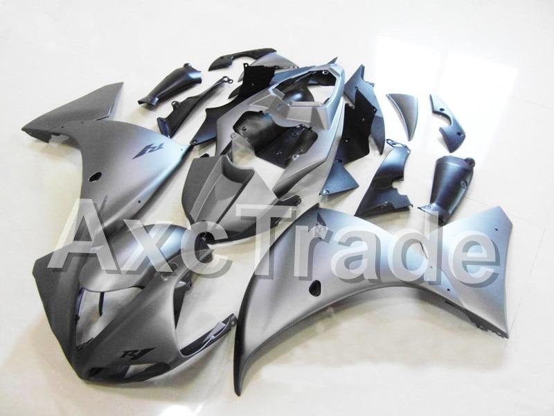 Мотоцикл Обтекатели для YAMAHA YZF Р1 1000 и YZF-R1 и YZF-Р1000 2009 2010 2011 ABS пластик впрыска Обтекателя кузова комплект серый