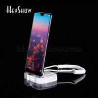 10x мобильный телефон охранной сигнализации системы дисплей Seguridad стенд акрил Смартфон Anti Theft Diefstal для huawei Apple samsung