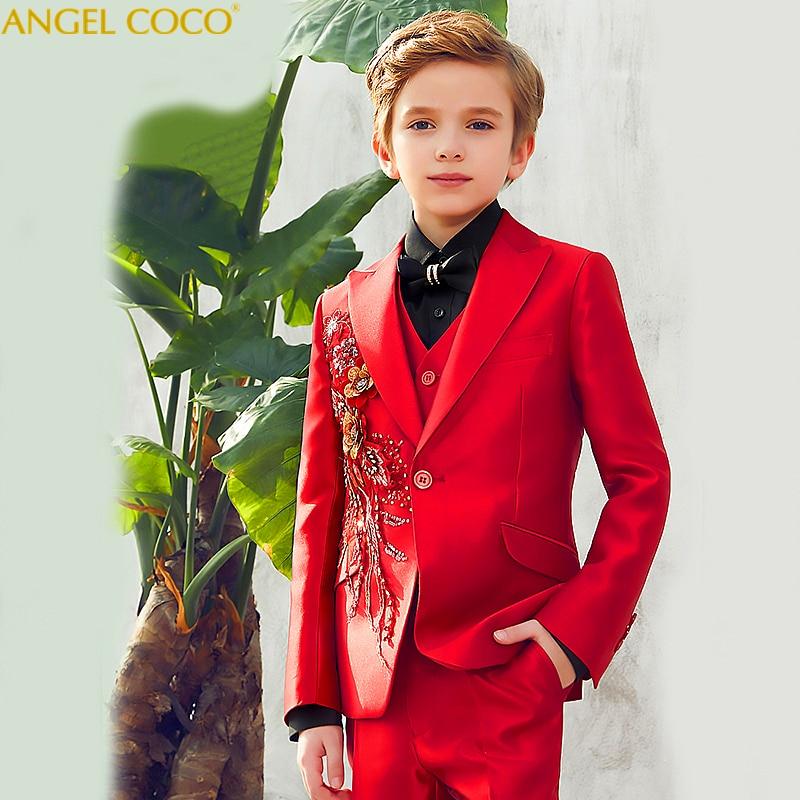 e74e01dc57206 Children Suit Blazer Suits Kids Clothes Boys Suits For Weddings ...