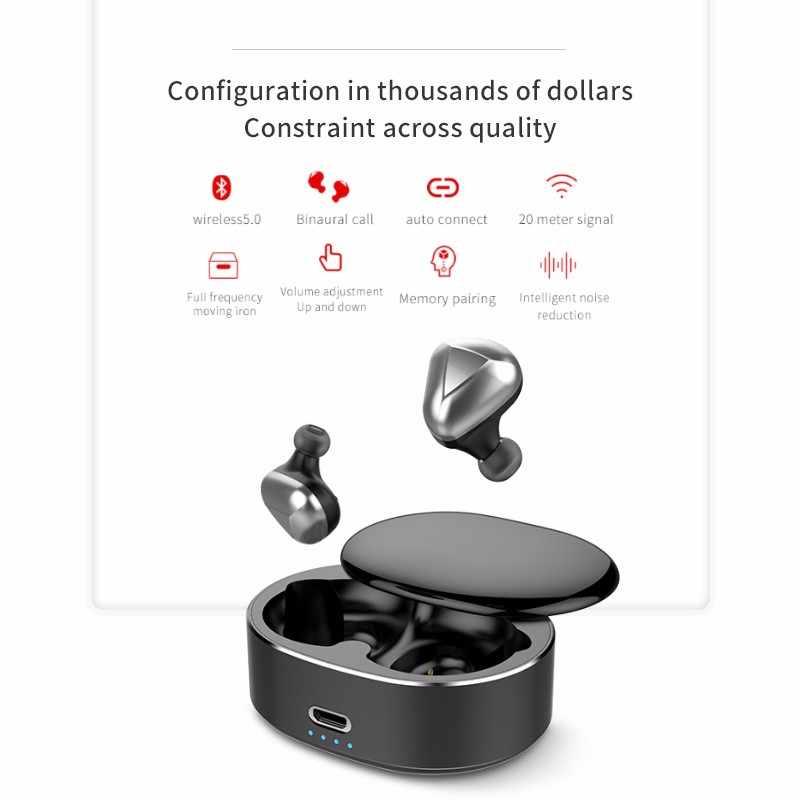 TWS беспроводные наушники handsfree bloototh наушники 360 Поворот bluetooth наушники спортивные для samsung/наушники для Iphone